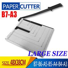 Portable A3 to B7 Paper Photo Cutter Guillotine Trimmer Knife Metal Base
