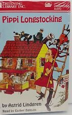 Pippi Longstocking Astrid Lindgren 1990 Cassette Audiobook Unabridged New