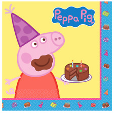 Peppa Pig Party Lunch Napkins - Pack of 16