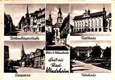 Bad Windsheim , Ansichtskarte ; gelaufen