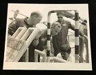 STS 38 CREW EMERGENCY ESCAPE TRAINING 1990 NASA CANDID SPECIAL INTEREST PHOTO