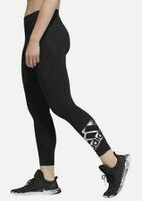 Women's NWT Adidas Originals Iridescent Logo Tights Jet Black Size L XL
