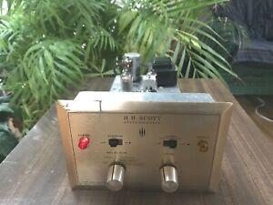 HH Scott type 335 Stereomaster wideband  Vacuum tube Multiplex Adaptor working