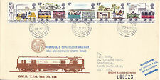 12 MARCH 1980 RAILWAY CARRIED FIRST DAY COVER  GWR TPO DOWN SECTION SHS