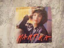 "MARTIKA - I FEEL THE EARTH MOVE P/S 7"" SINGLE  B3"