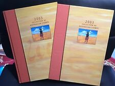 2003 Australian Stamp Collection Year Book Complete With Stamps Australia Post