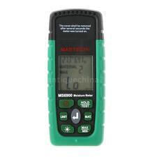 Mastech MS6900 Digital Moisture Temperature Meter Wood Concrete Humidity Tester