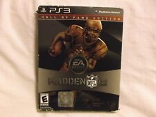 Madden NFL 12 Hall of Fame Edition (Sony PS3) NEW SEALED With Slip Cover