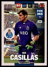 Panini 365 Adrenalyn XL 2017 Iker Casillas FC Porto Team Mates No. 244