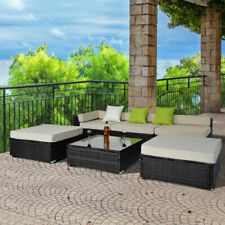 Rattan Up to 6 Seats Garden & Patio Furniture Sets with 6 Pieces