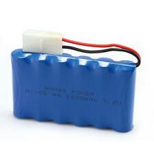 1pcs Ni-Cd AA Tamiya Plug Toy Car 7.2V 1400mAh RC Rechargeable Battery Blue