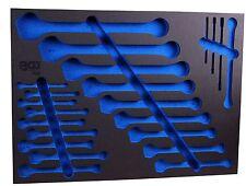 Schraubenschlüssel Schaumstoff Einlage Kfz Werkzeug Wagen Werkstattwagen BGS