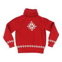 Lauren Ralph Lauren Women Petite Small Hand Knit Cotton Turtleneck Sweater Cable
