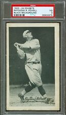 1923-24 Exhibit Arcade Card- Ray Powell - Black Background- Boston Braves- PSA 3