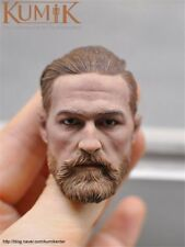 "KUMIK 1/6 Male Head Sculpt Model Toy Golden Hair F 12"" Man Figure Body KM16-91"