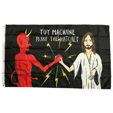Toy Machine Skateboards Bury The Hatchet Flag / Banner - FREE SHIPPING!