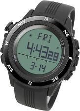 LAD WEATHER German Sensor Altimeter Black Sport Barometer Outdoor Watch