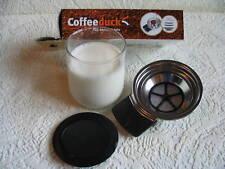 Coffeeduck, wiederbefüllbar para Philps Senseo hd7862, kaffeepad, dauerkaffeepad *