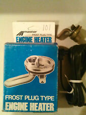 Master Frost Plug Engine Heater Model # 101 Great for winter start engine faster