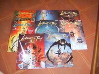 LANFEUST DE TROY serie completes  EDITIONS SOLEIL 8 tomes