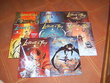 LANFEUST DE TROY serie completes  EDITIONS SOLEIL TTBE 8 tomes   NEUF