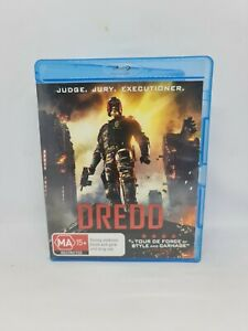 DREDD Blu-ray Region B Movie Very Good Condition