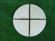Quarter Circle Paver Mould/Mold for Patio Paving Rotunda Garden Yard