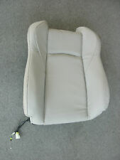 2007 2008 Nissan 350Z 87600-CF41C Front Seat Seat Back Assembly - Leather Gray