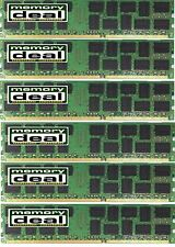 24GB (6 X4GB) DDR3 PC3-10600  ECC UNBUFFERED MEMORY FOR DELL PRECISION T3500