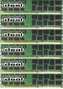 24GB (6 X4GB) DDR3 PC3-10600  ECC UNBUFFERED MEMORY FOR DELL PRECISION T3500