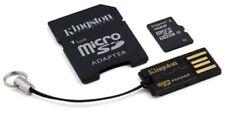 Tarjetas de memoria Kingston MicroSDHC para teléfonos móviles y PDAs con 16 GB de la tarjeta