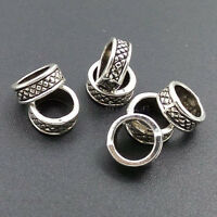 PJ121 Tibetan Silver Charm spacer beads Accessories Beads Wholesale 30-100pcs