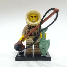 """LEGO Collectible Minifigure #8805 Series 5 """"ICE FISHERMAN"""" (Complete)"""