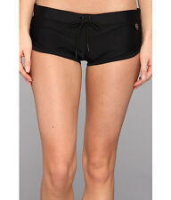 Body Glove Women's Black Smoothies Sidekick Sporty Swim Short 3819 Size S
