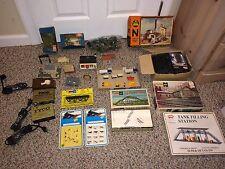 Vintage 70's N Scale Track,Bridges,Buildings,Houses,Power Packs,Atlas,Herpa