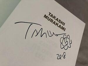 takashi murakami signed book X Off White Gagosian Event