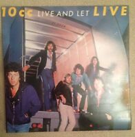 10CC - Live & Let Live - 1977 Double Vinyl LP - Mercury 6641-698 G/F Sleeve