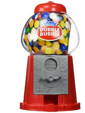 DUBBLE BUBBLE RED GUM MACHINE BANK DISPENSER FOR 3+ YEARS VINTAGE STYLE GUMBALL