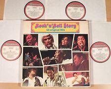 ROCK'N ROLL STORY - 48 Original Hits  (MUSIDISC, F / 4-LP-BOX / vg++/m-)