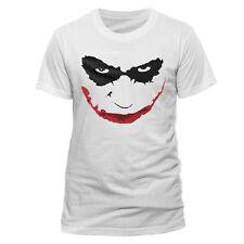 Batman - The Dark Knight - Joker Smile Outline T-Shirt M CID