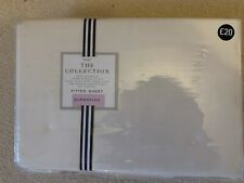 Next Fitted Superking Sheet Brand New