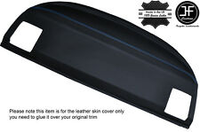 BLUE STITCH REAR PARCEL SHELF LEATHER COVER FITS BMW E36 3 SERIES COUPE 92-98