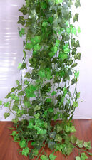 Artificial Ivy Leaf Vines Hangings For Wedding Home Decoration Set of 12