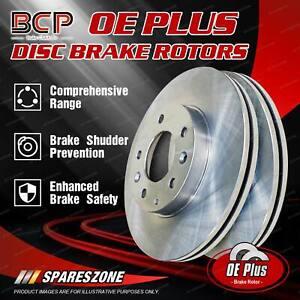 Rear Pair Disc Brake Rotors for Peugeot 308 1.2L Turbo 14-on BCP Brand