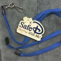 Safe-D Begins With Me Disney Cast Lanyard & ID Tag Holder + Tigger Iron-On Patch
