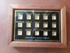 More details for servants or butlers 15 way  bell indicator box