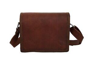 Leather Crossbody Sling Bag Handbag Purse Wallet Messenger Shoulder Bag Small