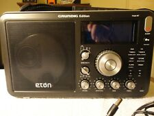 Eton Grundig AM/FM Shortwave Field BT RADIO with Alarm Clock, RDS,  Brand New.