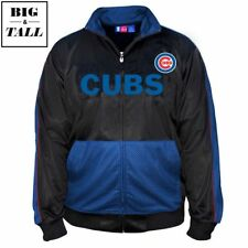 NWT Majestic Chicago Cubs Tricot Track Jacket Sz 4X