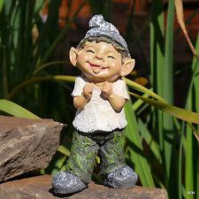 Gartenfigur Zungenstrecker Troll Gnom Wichtel Zwerg  Gartendekoration lustig
